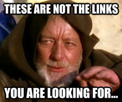 Jedi Unrelated Links Graphic