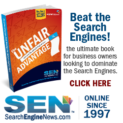 Planet Ocean SearchEngineNews.com Unfair Advantage Book