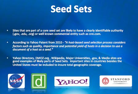 Seed Sets