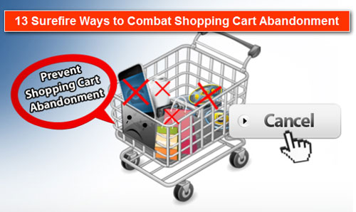 Shopping Cart Abandonment Graphic