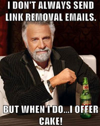 Link Removal Emails Graphic