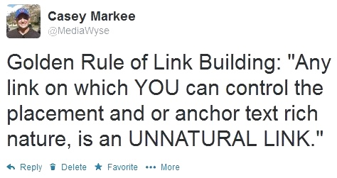 Golden Rule of Link Building